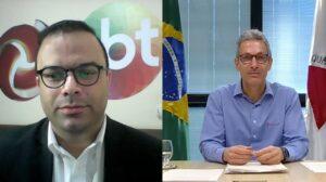 O anúncio foi feito em uma entrevista exclusiva concedida ao jornalista Wilson Ribeiro (Foto: Divulgação/TV Alterosa)