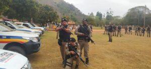 Mais de 95% da região de Guanhães é área rural. (Foto: PM)