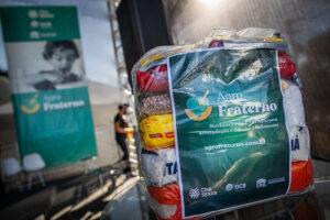 Quase 65 mil cestas básicas já foram doadas pelo projeto. (Foto: AgroFraterno)
