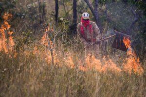 Objetivo dos cursos é oferecer qualificação para prevenir incêndios rurais. (Foto: Gcom-MT/Lucas Ninno)