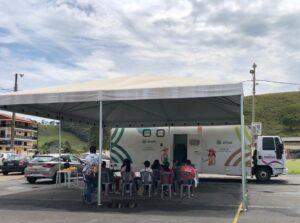 Caminhão da saúde passa por várias cidades mineiras (Foto: Faemg).