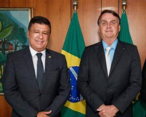 Carlos Viana e Bolsonaro