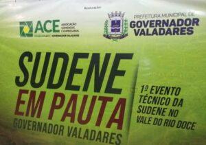 O 1º Encontro Técnico da Sudene aconteceu em Governador Valadares (Foto: Washington Bonifácio)